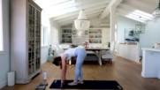 Katrinas yoga booty workout