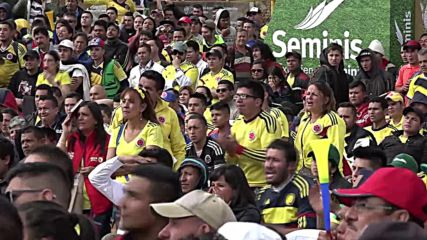 Colombia: Fans silenced in Bogota as Colombia loses 2:1 to Japan