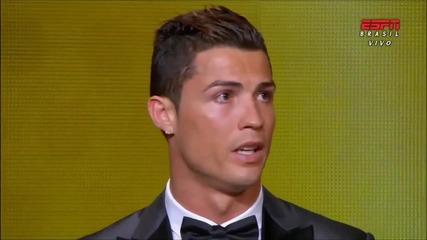 Кристиано Роналдо спечели златната топка за 2013