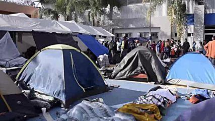 Mexico: Migrant caravans reunited in Tijuana