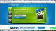 Инсталиране на програмата за он-лайн видеозапис на Тв - Wm Recorder 14.10.1 + лиценз