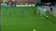 Голът на Домовчийски за 3:1 срещу Черно море