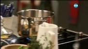 Спаначена супа с топчета от телешко - Бон апети (02.03.2016)