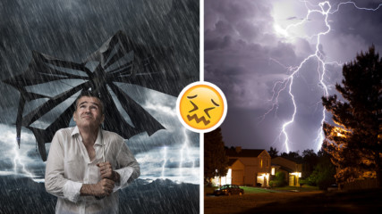 В сезона на мълниите: Какво да (не) правим при гръмотевична буря?