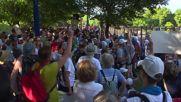 САЩ: Поддръжници на Сандърс протестират