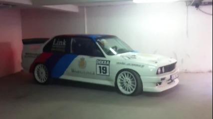 Най мощното E30 M3 Turbo в България