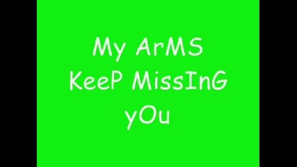 Danzel - My Arms Keep Missing You