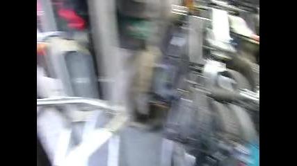 Много байкъри в автобус 66