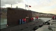 Russia: Submarine arrives back in Novorossiysk after striking IS targets