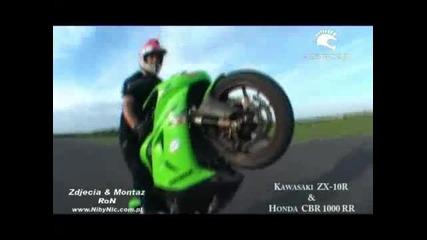 Kawasaki Zx10r vs. Honda Cbr1000rr