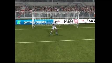 Fifa 13 - Фамозен гол