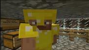 Minecraft - Mcraftbg - Моите 2 непослушни мишока