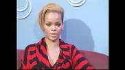 Rihanna отговаря на 5 въпроса на vh1 (4 част)