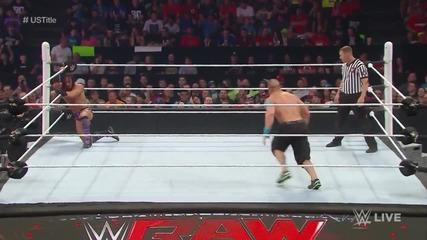John Cena срещу Neville – United States Championship Match - Първична сила (11.05.15)