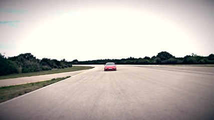 The new Porsche 911 Gt3 Rs тестова обиколка на трасето Нардо.