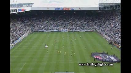Newcastle 1 - 0 Norwich