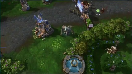 Heroes Of The Storm - Gameplay Blizzcon 2013