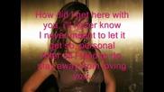 Rihanna - Cry (с Текст)