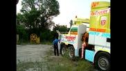 Пътна помощ Автокомплекс Димитров - аварирали тежкотоварни автомобили част 1