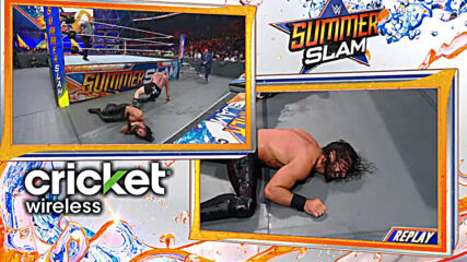 Brock Lesnar vs. Seth Rollins - Universal Title Match: SummerSlam 2019 (Full Match)
