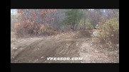 Yamaha yfz450r Hmf Engineering full exhaust test yfz450
