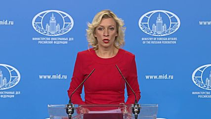 Russia: Zakharova thanks foreign leaders for support after Kerch college attack