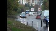 Тежка е обстановката в Бургас и Родопите, дъждът постепенно спира