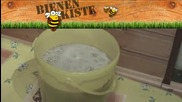 Изчистване на пианата при центрафугирания мед