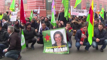 Germany: Hundreds in Berlin protest against attacks on Kurds in Turkey