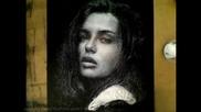 Рисуване на портрет със захар , оживява