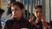 State of Palestine: Children stage protest in solidarity with their friends in Israeli prisons