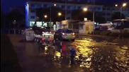 Наводнение в Поморие