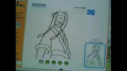 Как Да Нарисувате Haku