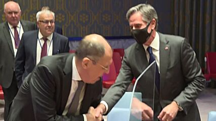 UN: Lavrov meets with Security Council members' FMs and Guterres