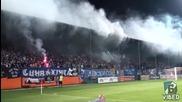 Сектор Б по време на мача Литекс срещу Левски 04.10.2015