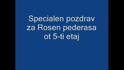 Specialen Pozdrav Za Rosen Pederasa Ot 5 - Tiq Etaj