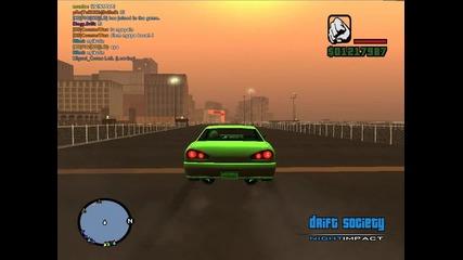 My first drift :)