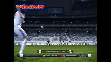 Pes 2011 - Страхотен гол на Сами Кедира !