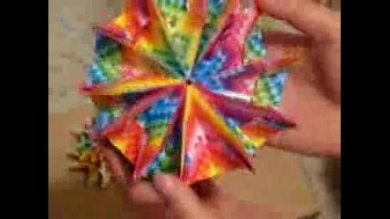 Оригами Фоерверки