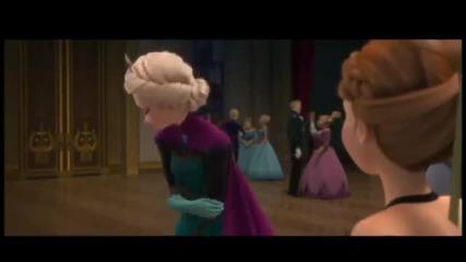 Замръзналото кралство - откъс с Анна и Елза