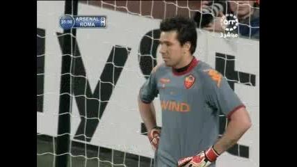 24.02 Арсенал - Рома 1:0 Робин Ван Перси Гол