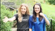 Als Ice Bucket Challenge - Natalie Dormer & Katie Mcgrath (full & with sound)