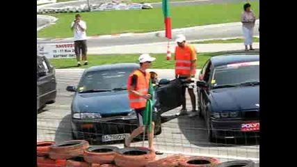 Дрифт Хасково 17.05.2009 - всички коли подредени