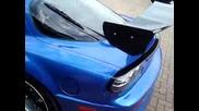 mazda rx - 7 600bhp bayside blue beast