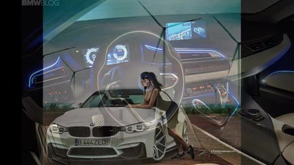 bmw with girls 4