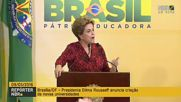 Brazil: Rousseff addresses supporters after impeachment vote annulled