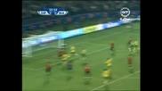 20.06 Фамозен гол на Давид Вия + пропусната дузпа ! Юар - Испания 0:2 Купа на Конфедерациите