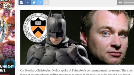 Christopher Nolan Says Princeton Graduates Are Better Than Batman