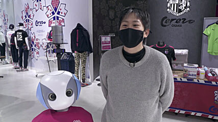 If you're not wearing a face mask, this Japanese robot can spot you