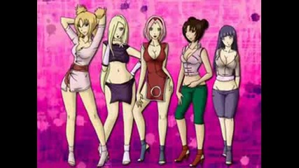 Hot And Sexy Naruto Girls